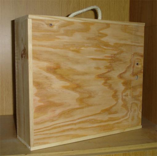 Cajas de madera para vino cava jamon - Botelleros de madera rusticos ...